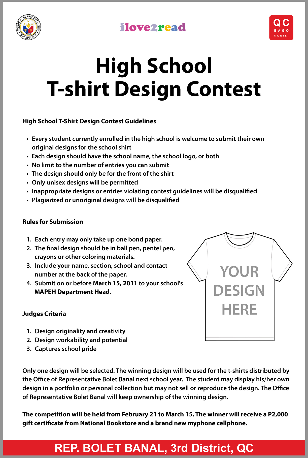 T shirt design quezon city